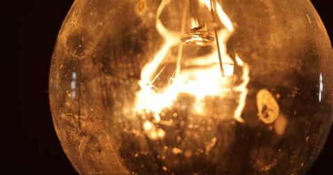 Tungsten lightbulb flickering with power problems