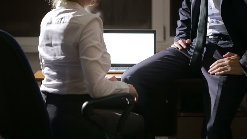 office work sex video