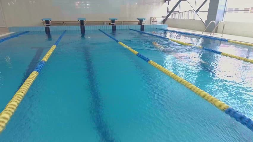 Professional Woman Swimmer Training in Stock Footage Video (100%  Royalty-free) 20675065 | Shutterstock