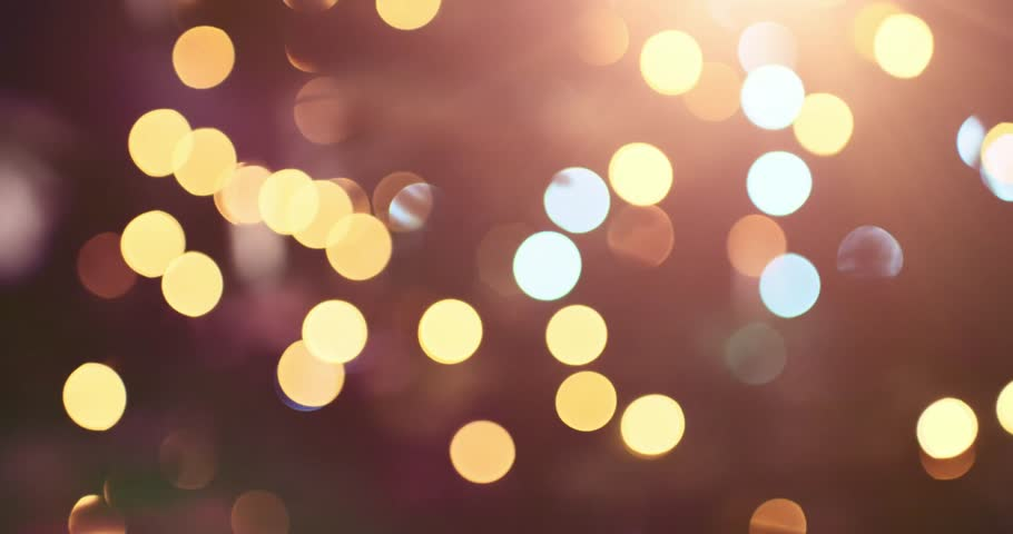 Abstract Blurred Christmas Lights Bokeh Background. 4K DCi SLOW MOTION 120 fps. Blinking Christmas Tree Lights Twinkling. Winter Holidays Concept. DOLLY SHOT | Shutterstock HD Video #20836555