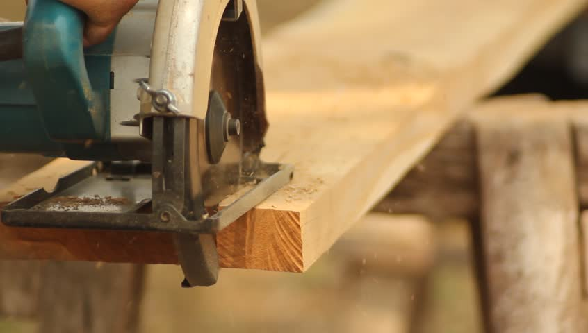 Cutting Wooden Floor By Electric Stock Footage Video 100 Royalty Free 2088245 Shutterstock