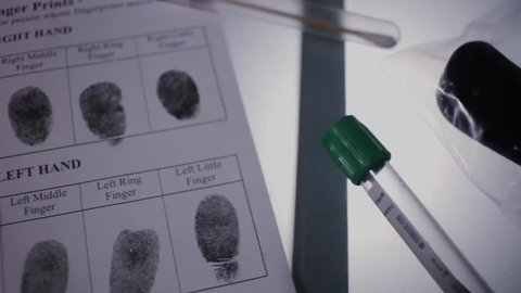CSI Forensic examination knife