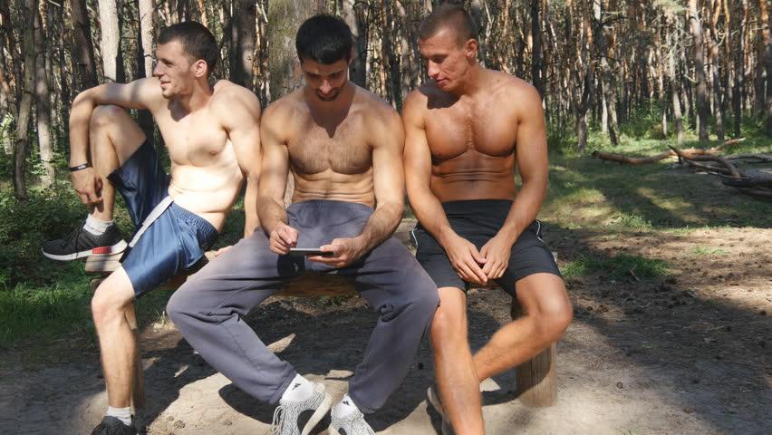 Nude Men Bathing Video 15