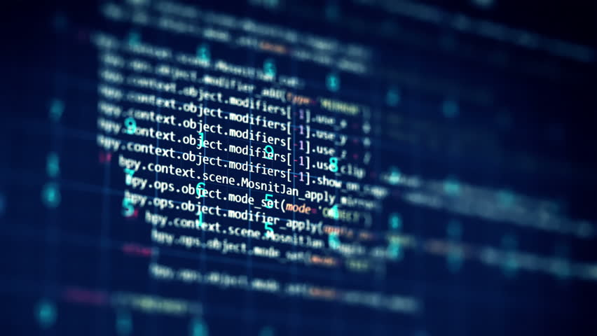Loopable footage of Programming code abstract technology background for  software developer and  Computer script concept  | Shutterstock HD Video #21056470