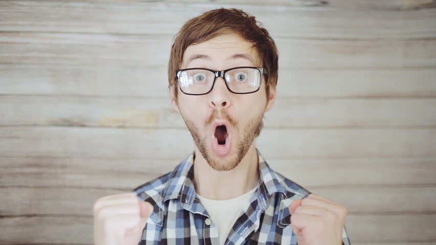 Surprised Face Stock Footage Video | Shutterstock
