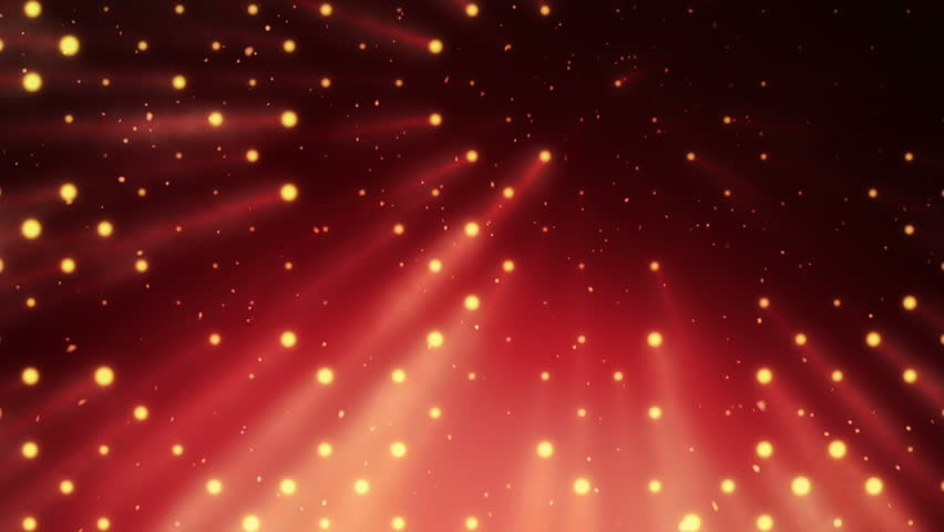 Abstract background with wall from lamps of bright light. Glowing and bright light bulbs. Projector of light rays. Animation of seamless loop. | Shutterstock HD Video #21158905