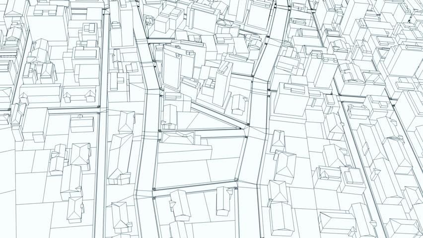 City Sketch Flight