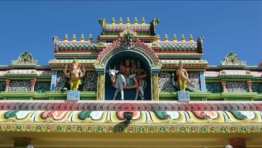Mauritius - Hindu Temple Stock Footage Video (100% Royalty-free) 212155    Shutterstock