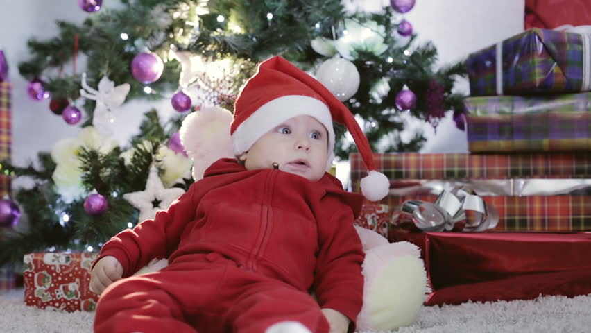 04d245383 Baby Boy in a Red Stock Footage Video (100% Royalty-free) 21237055 |  Shutterstock