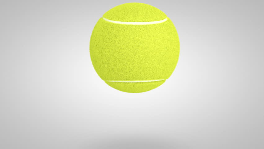 Tennis Ball Bouncing Close Shot Stock Footage Video 100 Royalty