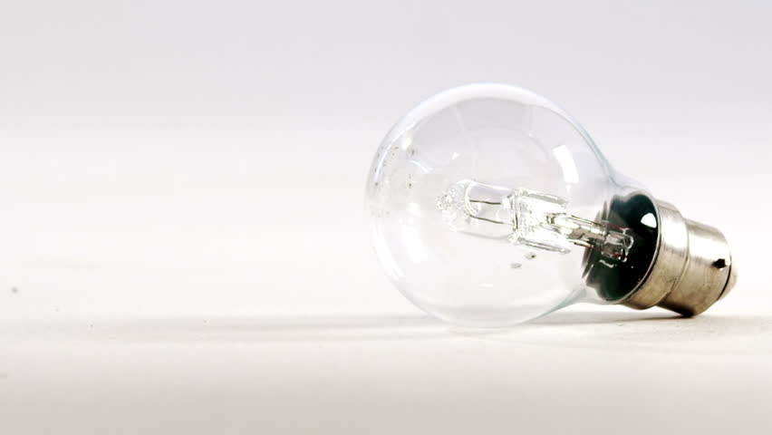 Close-up of a bulb against white background 4k | Shutterstock HD Video #21271345