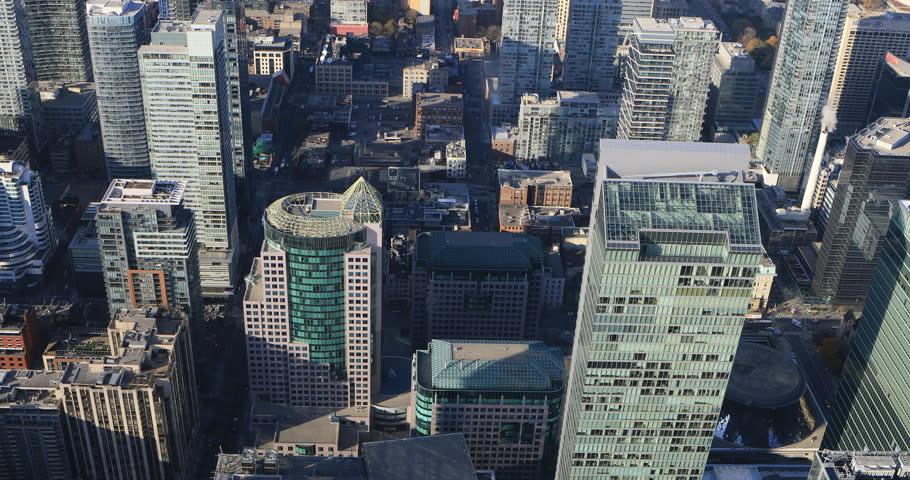 4K UltraHD Aerial view over Toronto, Canada | Shutterstock HD Video #21398755