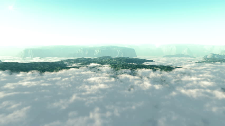 Mountains and clouds fly over | Shutterstock HD Video #2151365