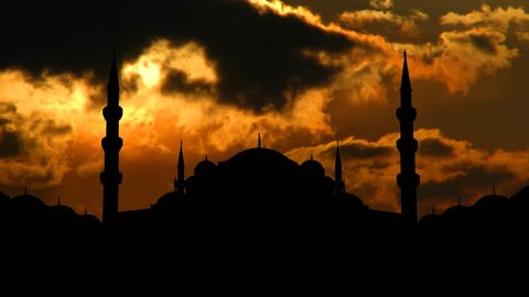 The Sultan Ahmed Mosque, or Sultanahmet Camii, is a historical mosque in Istanbul, in Turkey. The mosque is known as the Blue Mosque for the blue tiles on the walls of its interior.