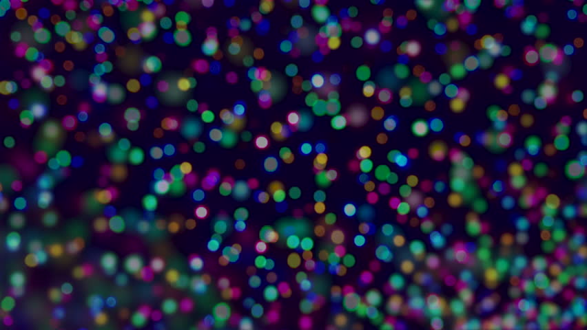 Holiday Christmas tree lights background in bright and colorful bokeh defocus abstract | Shutterstock HD Video #21711115