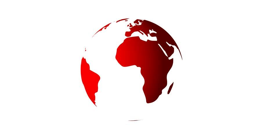 Planet earth globe modern news background seamless 3d rendered planet earth globe modern news background seamless 3d rendered vector animation in classic red videos de metraje en stock 21739135 shutterstock gumiabroncs Images