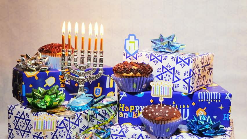 Jewish holiday hannukah symbols Lighting Hanukkah Candles Hanukkah celebration judaism menorah tradition