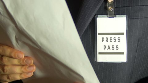 A press pass for journalism
