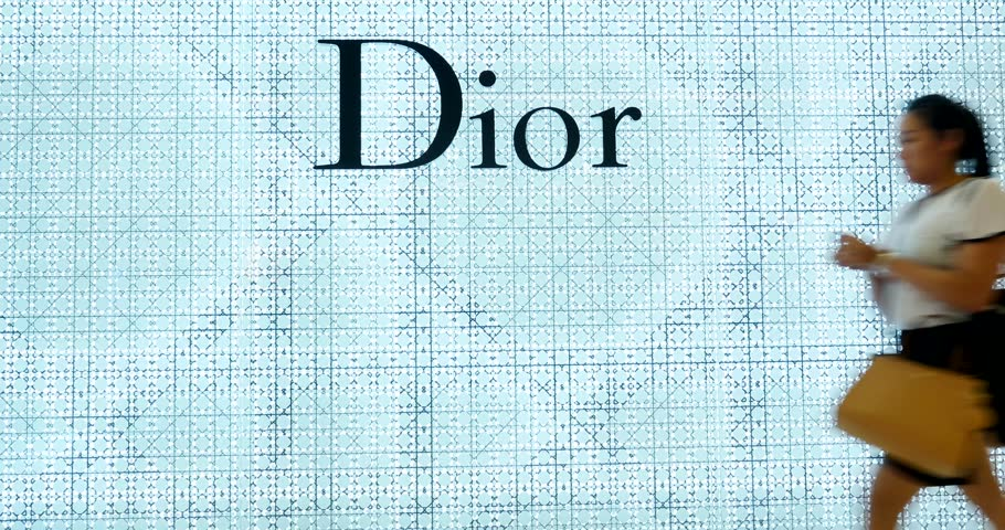 BANGKOK, THAILAND - NOVEMBER 19, 2015: Dior store. Dior is a European luxury goods company founded in 1946 by the eponymous designer Christian Dior.