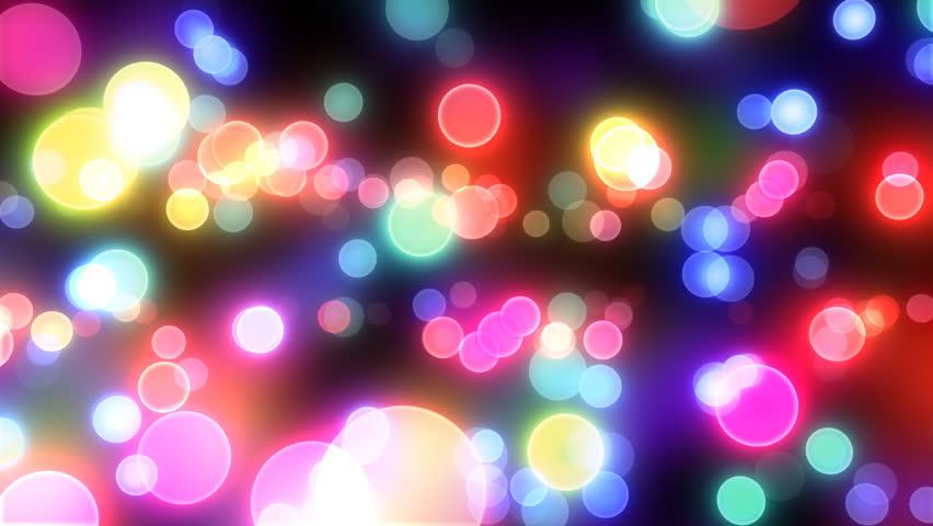 Defocused Night Street Lights, Blurred Colorful Bokeh ...  Defocused Night...
