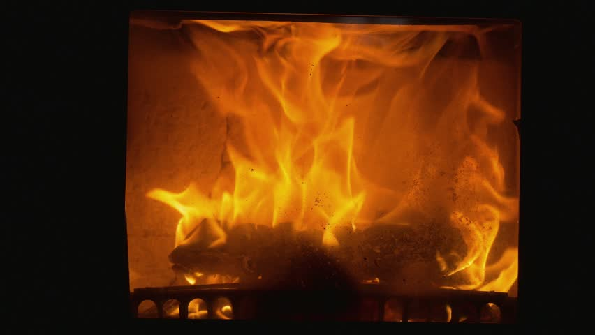 Looped Fireplace Stock Footage Video 20229619 | Shutterstock