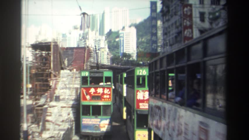 HONG KONG 1982: squeezing through the town