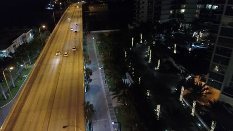 Aerial video bridge over inlet