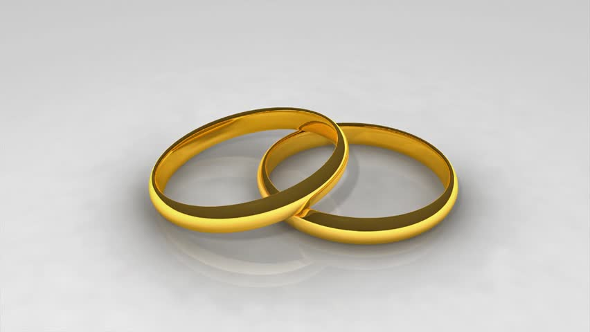 Animated Wedding Rings In Hd1080