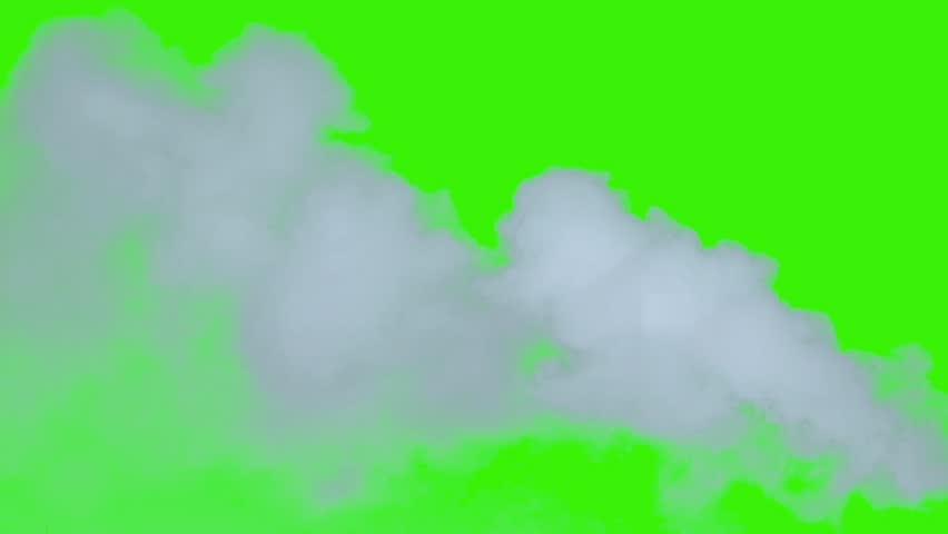 A beautiful smoke wisp. These are great for special effects and motion graphics. / Intense smoke chroma key background. Enjoy
