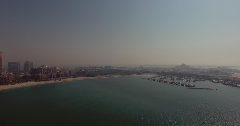 Emirates and Presidential Palace Abu Dhabi