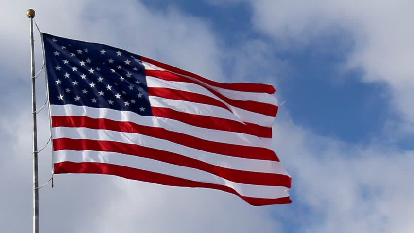 American Flag Stock Footage Video   Shutterstock