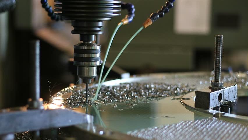 Lathe machine in workshop #22456135