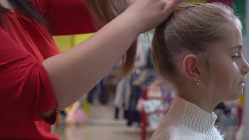 Ponytail Haircut Footage Page 2 Stock Clips