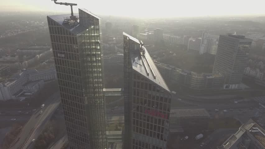 Twin towers Munich Germany