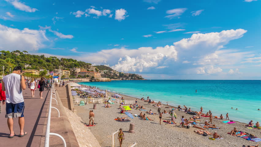 Promenade Des Anglais Stock Video Footage 4k And Hd Clips Shutterstock