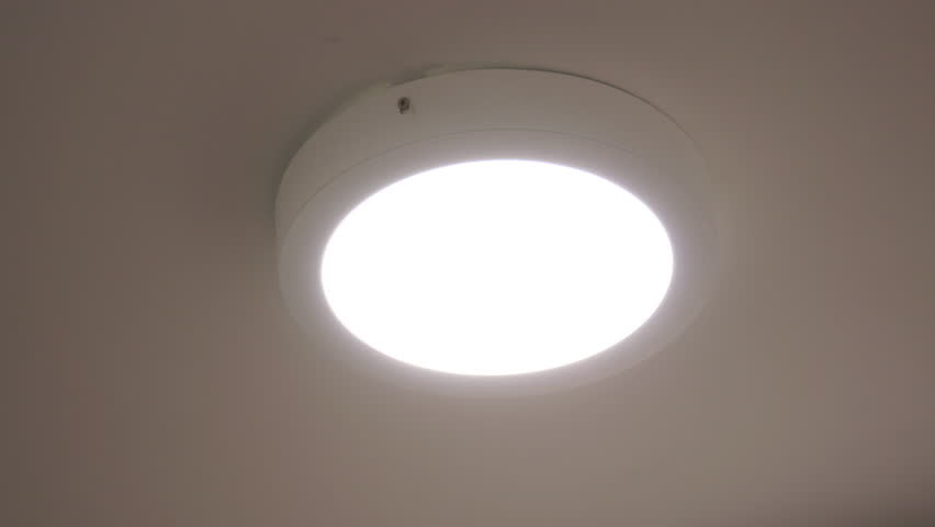 Close up Round Indoor Led Ceiling Light Turning And f