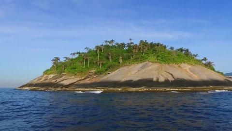 Arquipélago das Ilhas Cagarras no mar do Rio de Janeiro