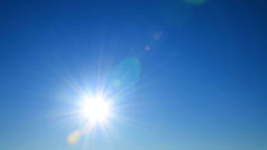 Sunny Day Blue Sky Clouds Transition Stock Footage Video 26502521