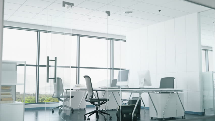Hd00 13modern Office Space With Glass Walls
