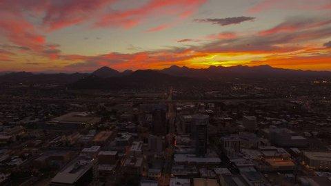 Aerial Arizona Tucson 4K Aerial video of Tucson Arizona.