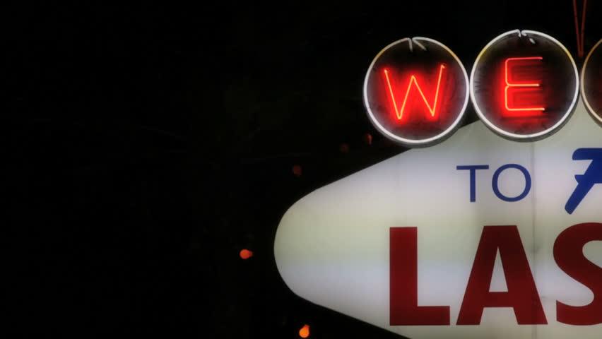 Las Vegas - Circa 2010: Las Vegas welcome sign in 2010. The classic Welcome to Las Vegas sign in Las Vegas, Nevada.
