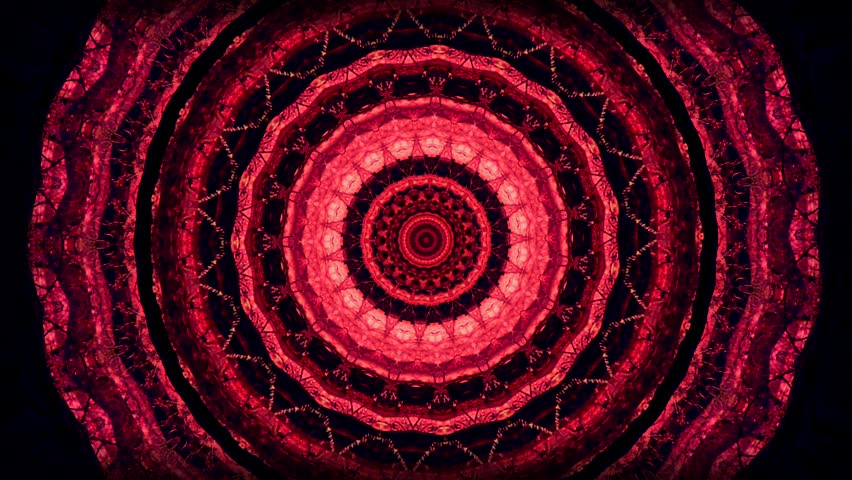 Psychedelic visual background. Kaleidoscopic mandalas. | Shutterstock HD Video #23277925