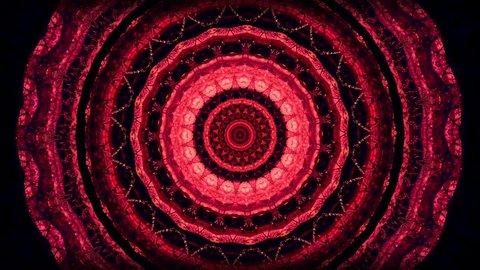 Psychedelic visual background. Kaleidoscopic mandalas.