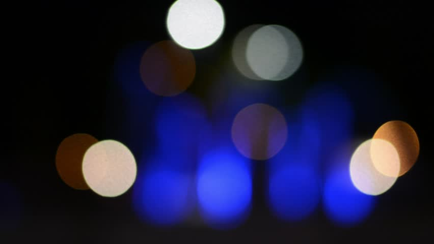 Abstract blurred bokeh at night light. | Shutterstock HD Video #23358847