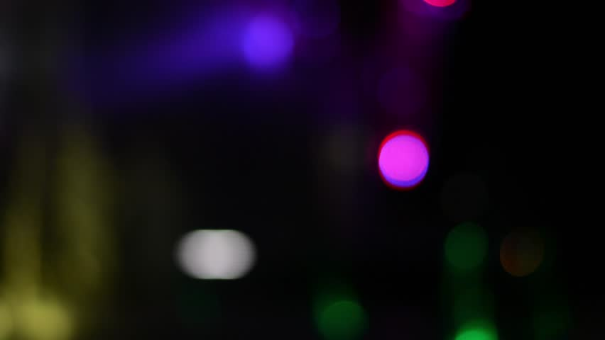 Abstract blurred bokeh at night light.for video design.  | Shutterstock HD Video #23450323