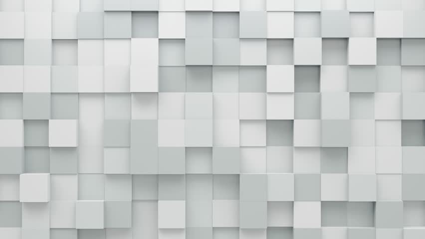 Abstract Cubes Background Random Motion, 3d Loopable Animation 4k | Shutterstock HD Video #23471395