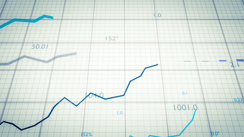 Statistics concept. Growing financial charts and diagrams showing increasing profits. | Shutterstock HD Video #23538565