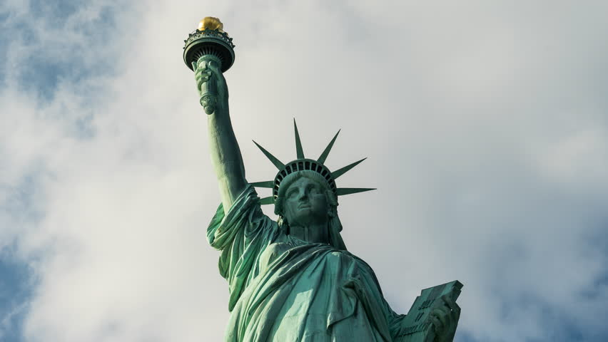 Statue of Liberty, time lapse - New York City | Shutterstock HD Video #23579875