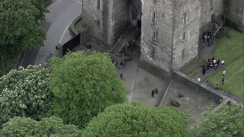 Visitors At Bunratty Castle | Shutterstock HD Video #23669365