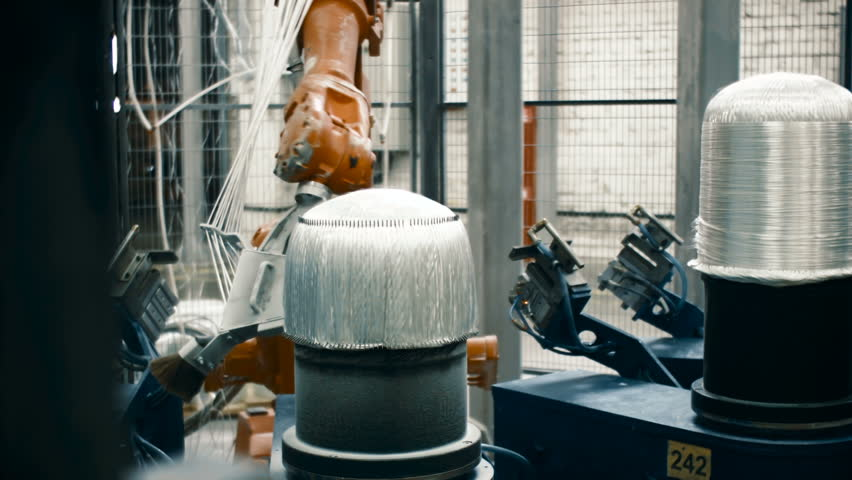 Manufacture of carbon fiber for the automotive industry | Shutterstock HD Video #23674375